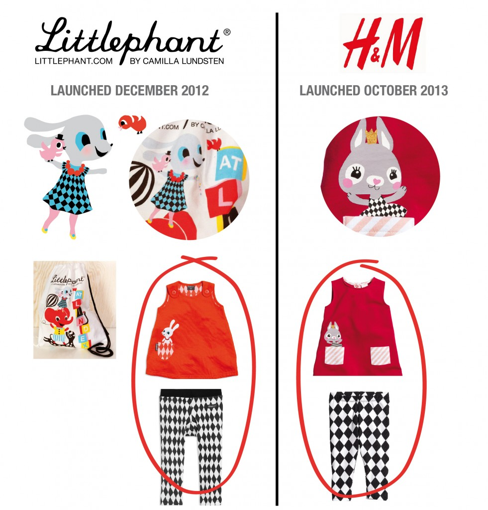 Littlephant_copyed by H&M_Newsletter