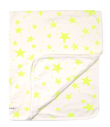 couverture-jersey-etoiles-fluo