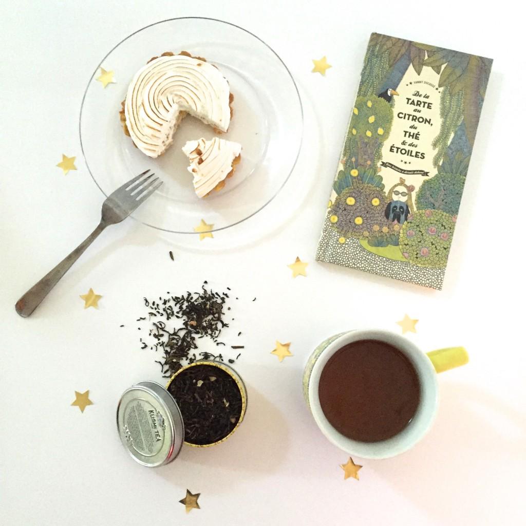 De la tarte au citron, du thé et des étoiles