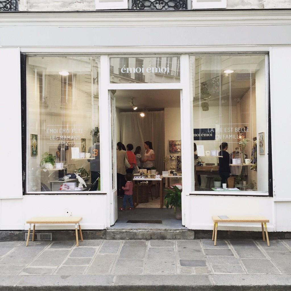 Boutique éphémère Emoi Emoi