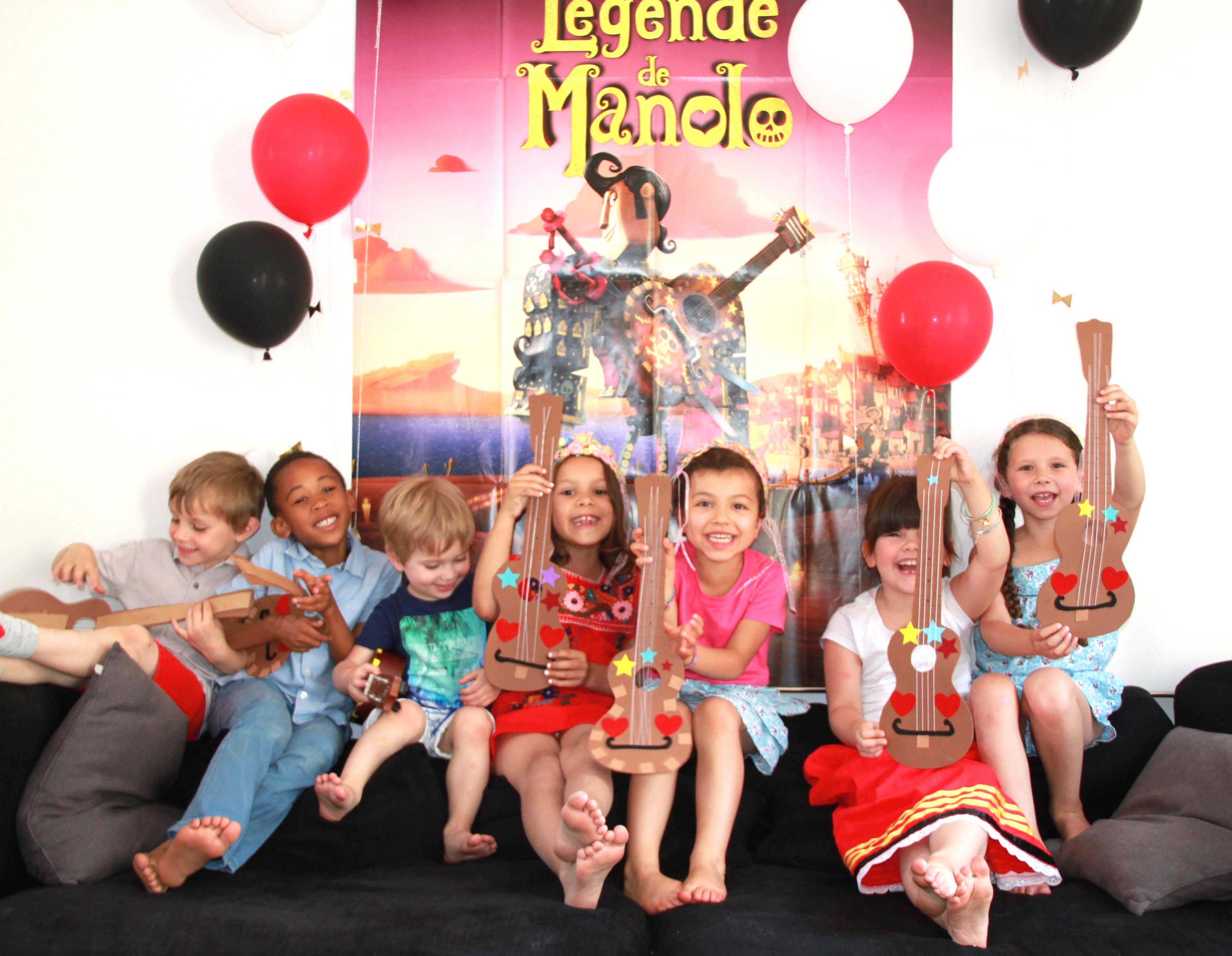 6 ans Louise x La légende de Manolo