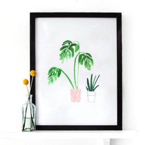 Illustration plantes by TheLovelyDrawer