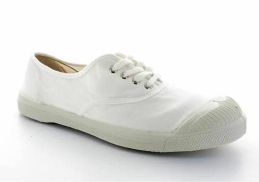 ballerine-enfant-bensimon-blanc-avec-lacets
