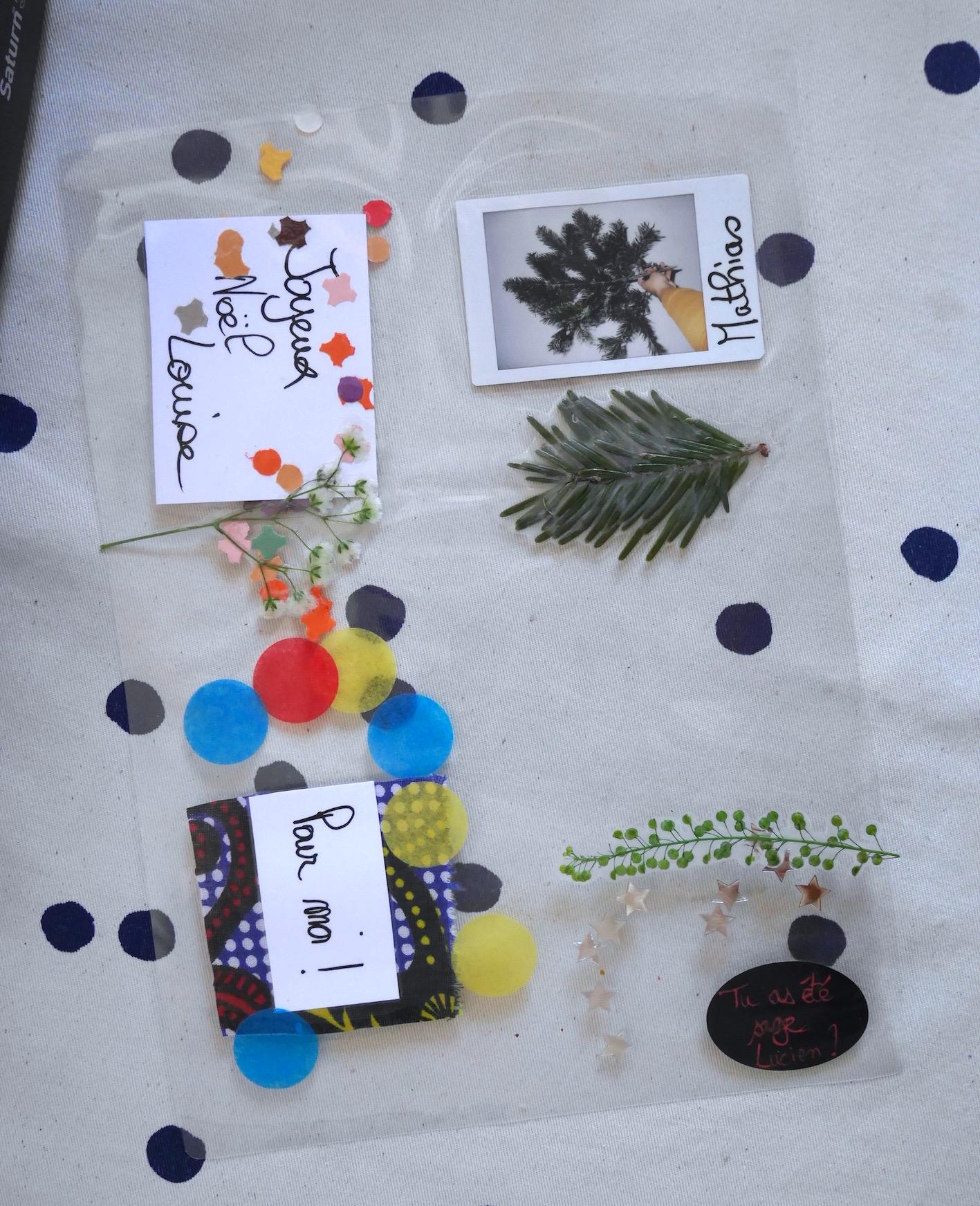 DIY étiquettes plastifiées